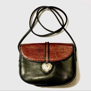Awesome Brighton two-tone crossover bag